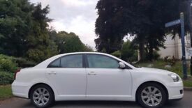 TOYOTA AVENSIS AUTOMATIC, 2009, 78K MILES, HPI CLEAR, 1.8, TOM TOM, MOT, DELIVERY AVAILABLE