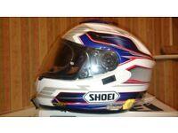 Shoei GT Air motorcycle helmet Inertia TC2 NEW pads SPARE VISOR M / L Medium Large Suzuki BMW RRP490