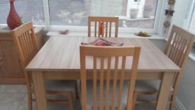 Dining Table - natural oak effect