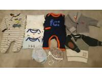 Baby boy bundle 0-3months