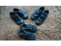 Clarks and Vans school shoes