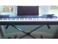 Casio CDP-120 Electric piano / keyboard for sale - excellent condition. Perfect christmas present!