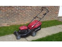 Mountfield large 21' cut self propelled petrol mower
