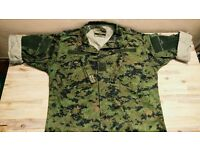 CADPAT Camouflage Shirt & Trousers - Size LARGE