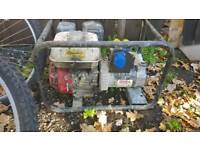 Honda generator working