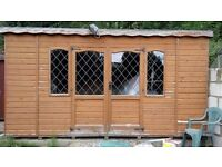 garden shed - 14x12 feet - very good condition