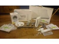 Nintendo Wii Console with Wii Fit Board, Wii sports and ZELDA