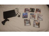 Ps3 super slim 500gb with 8 games