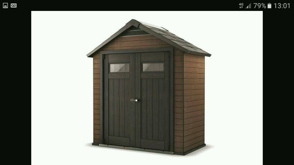 reduced brand new keter fusion 754 garden shed - Garden Sheds Gumtree