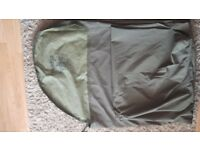 Genuine British Army Gortex Waterproof Sleeping Bag Cover (Olive Green)