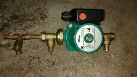 WILO 3 speed central heating pump with fittings
