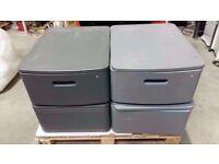 Cabinet single drawer swivel top & lockable