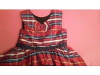 girls M&S dress age 6-7 excellent cond