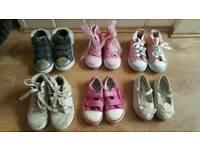 Girl shoes bundle 8 pairs