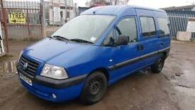 FIAT SCUDO 2006 2.0 HDI SX JTD 56 DISABLED PEOPLE CARRIER