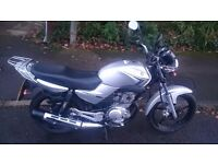 YAMAHA YBR 125cc 2010 IN CLEAN SILVER VERY RELIABLE RUNNER