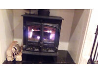 HUNTER COMPACT 5 MULTI FUEL WOOD BURNER