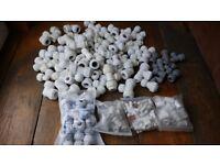Plastic Push-Fit Fittings -Unused - Worth over £155!!
