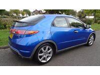 Honda Civic 2.2 i CTDi EX 5dr ***Panoramic Sunroof***SAT-NAV 2007 (07 reg), Hatchback