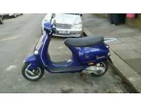 Vespa et4 125cc 125 scooter