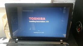 "Toshiba Satellite C50-B 14"" Windows 10 500GB HDD 4GB RAM"