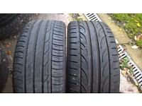 assorted 17inch tyres