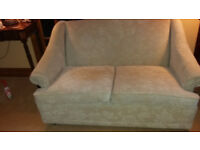 TWO SEATER SETTEE IN BEIGE