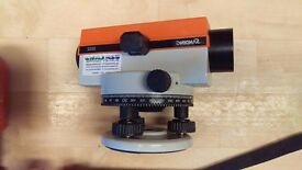Dumpy level for surveying Tripod, Staff and level used 3.5 years old