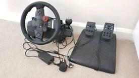 Logitech ps3 steering wheel