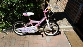 LOVELY GIRLS BIKE Up To 5YRS APPROX