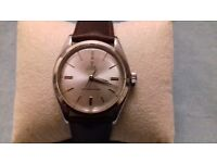 Very Rare Vintage Small Rose Tudor by Rolex Oyster, Shock Resisting Hand