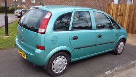 VAUXHALL MERIVA LIFE 2004 REG ONE OWNER mint condition in and out
