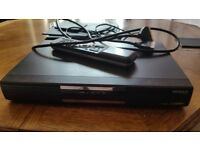 Humax freeview+ recorder with remote and scart lead
