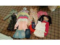 Girls clothes 4-5 year old.
