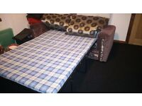 2 seater sofa pull out bed