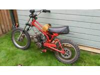 ITALJET JC 50 KIDS mx BIKE PROJECT lt pw 80 spares repairs