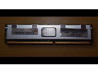 USED DESKTOP DDR2 1GB 2RX8 PC2 5300F-555-11-BO 240 PIN RAM
