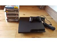 Playstation 3 with PS Move and games
