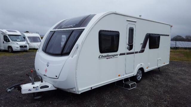 2012 Swift Challanger Sport 544, Double Dinette, End Washroom, Single Axle  | in Caerphilly | Gumtree