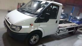 2006 ford transit recovery truck beavertail 1 owner low mileage interior retrim, new build
