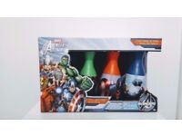Marvel Bowling Set For Kids Avengers Toys Indoor Outdoor Playset New