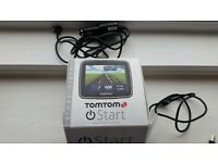 TOM TOM START in excellent condition comes boxed with both chargers and instructions