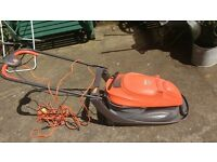 Flymo Easi Glide 300v Lawnmower with Sharp Blades and Clean Exterior
