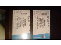 2 tickets for Black Stone Cherry at Newcastle upon Tyne