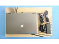 NEW CONDITION HP PROBOOK W/ HP BAG. CORE i5 4X2.5GHZ, 4GB RAM, 500GB HDD, DVD-RW, CAMERA, 13.3""