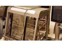 New Infernus Heated Display Cabinet