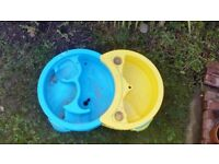 Sand and Water Pit Large Plastic Garden or Patio