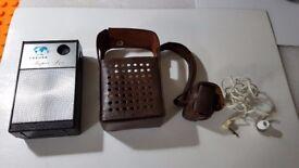 Vintage Sakura Super 6 Six Transistor AM Radio fully serviced