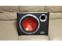 CAR ACTIVE SUBWOOFER SONY XOLOD 1200 WATT 12 INCH WITH VIBE MONONOBLOCK BUILD IN AMPLIFIER ENCLOSURE