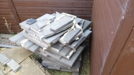 Basalt Offcuts - large and small